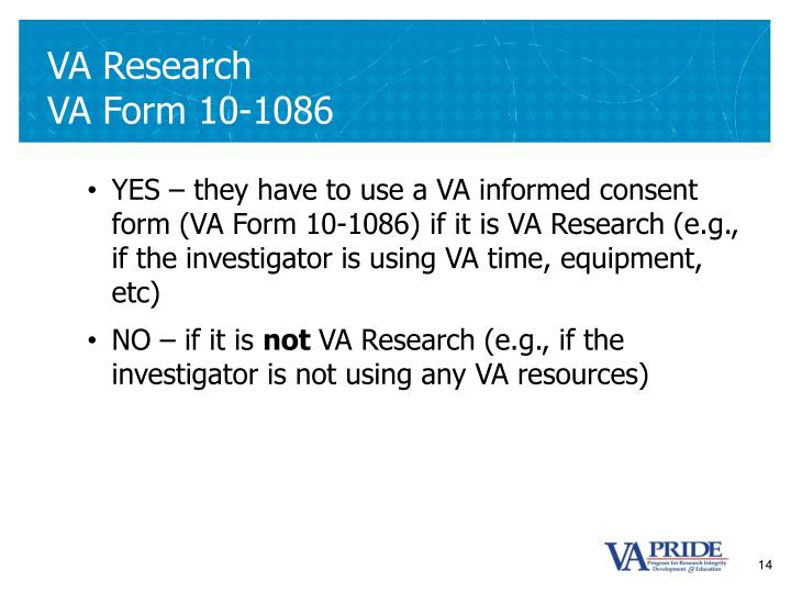 VA Research
