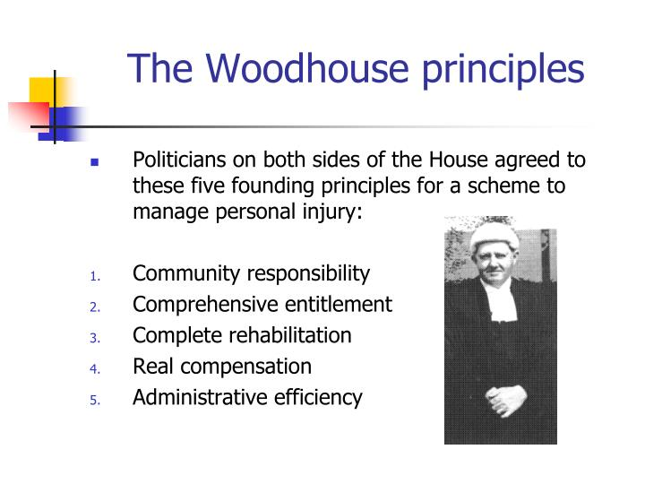 The woodhouse principles