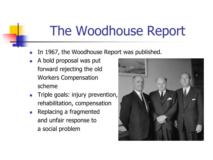 The woodhouse report