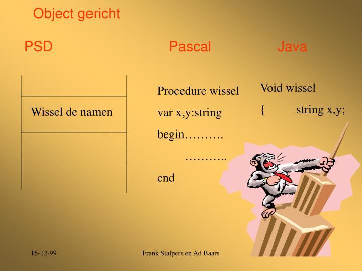 Object gericht