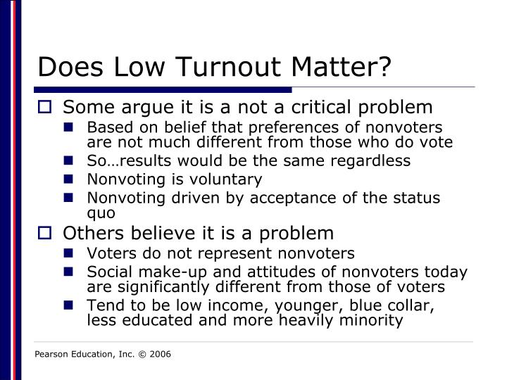 Does Low Turnout Matter?