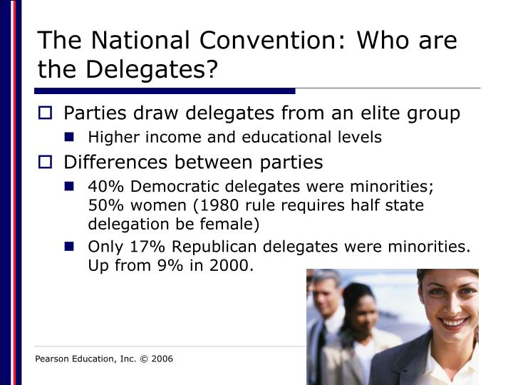 The National Convention: Who are the Delegates?