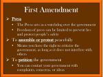 first amendment1