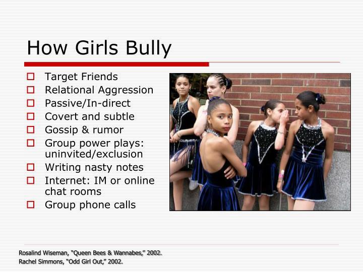 How Girls Bully