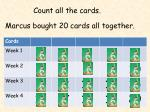 count all the cards