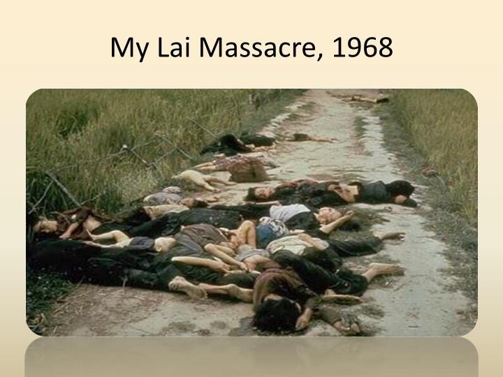 My Lai Massacre, 1968