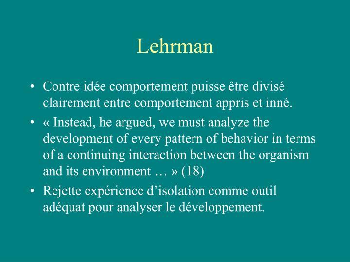 Lehrman