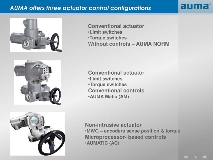 Ppt - Auma Electric Actuators Powerpoint Presentation