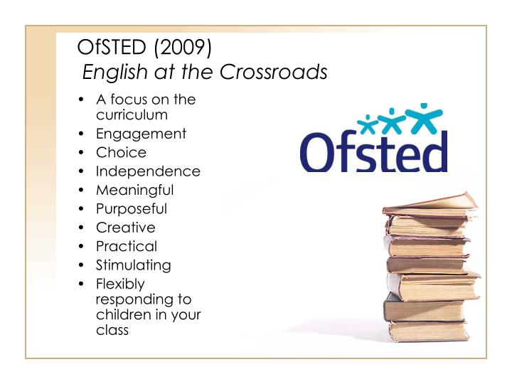 OfSTED (2009)