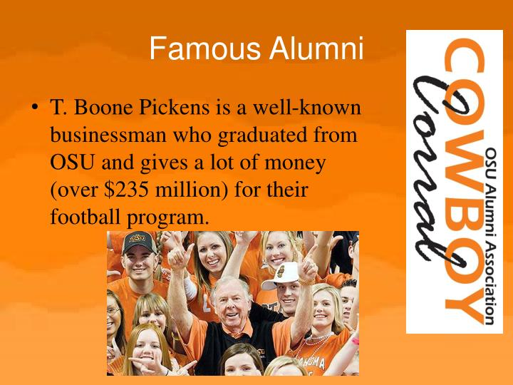 Famous Alumni