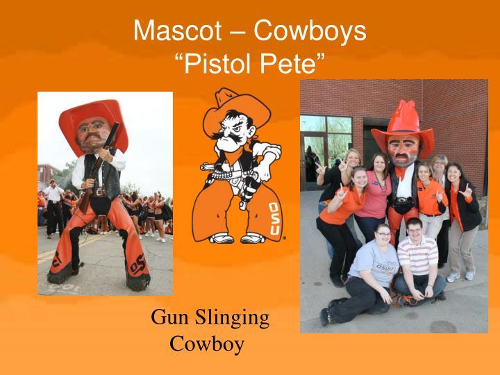 Mascot – Cowboys