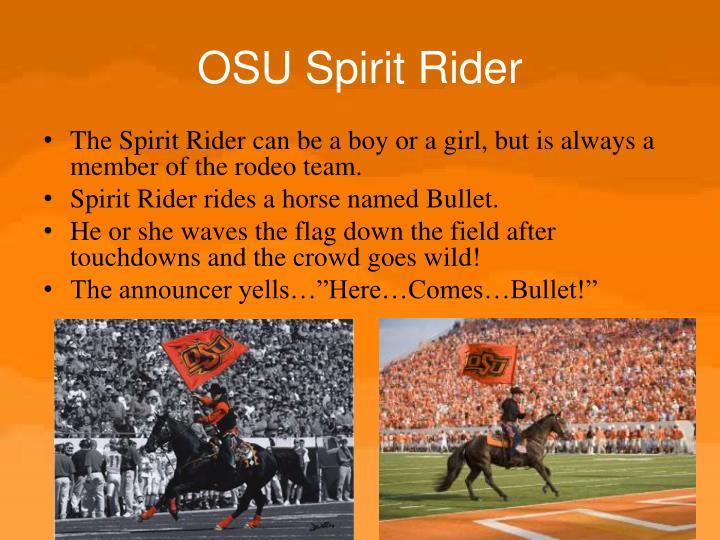 OSU Spirit Rider