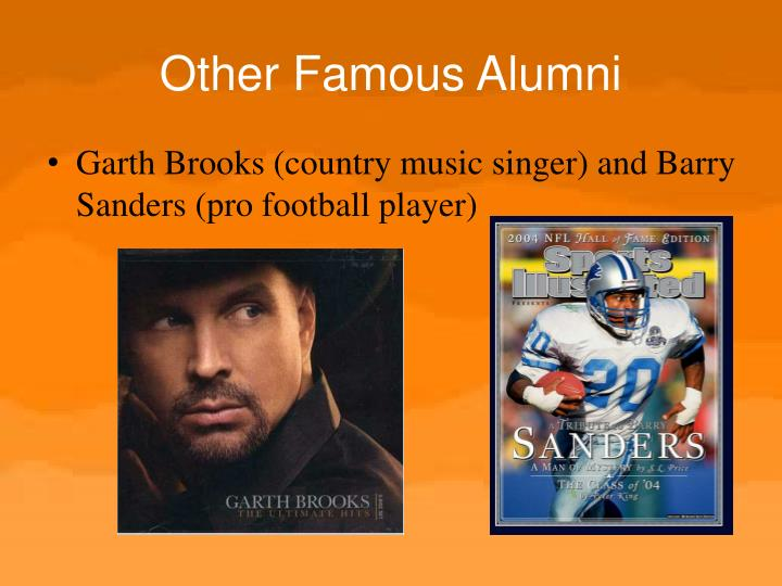 Other Famous Alumni