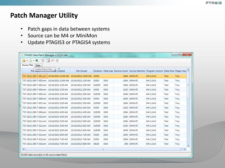 Patch Manager Utility