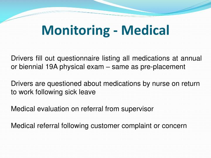 Monitoring - Medical