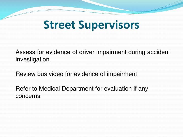 Street Supervisors