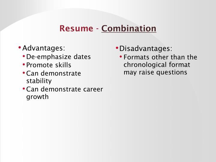 Resume -