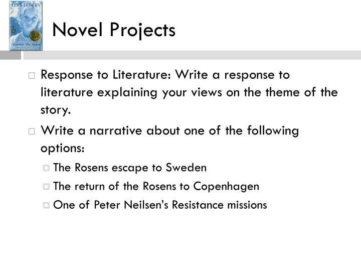 Novel Projects