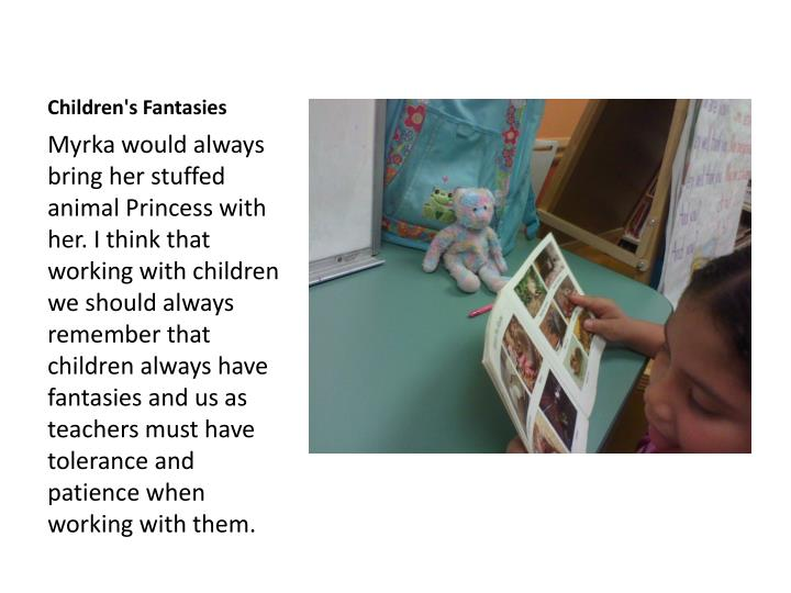 Children's Fantasies
