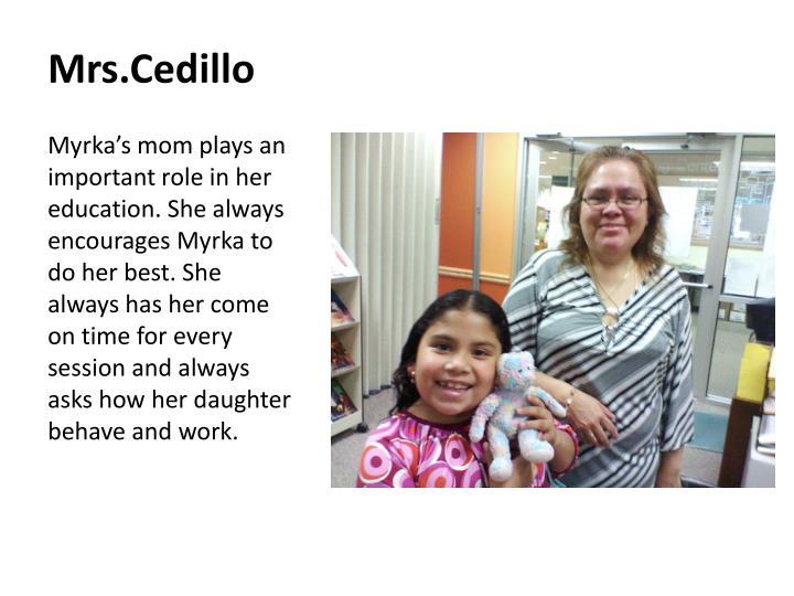Mrs.Cedillo