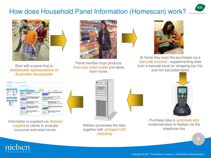 How does Household Panel Information (Homescan) work?