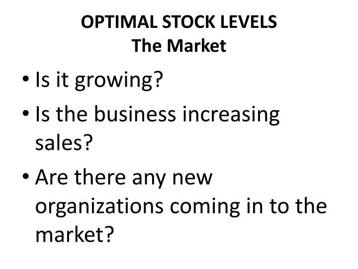 OPTIMAL STOCK