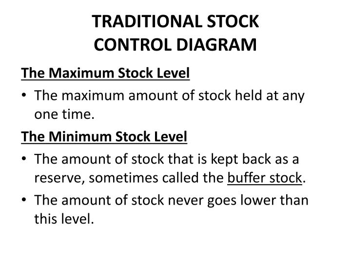TRADITIONAL STOCK