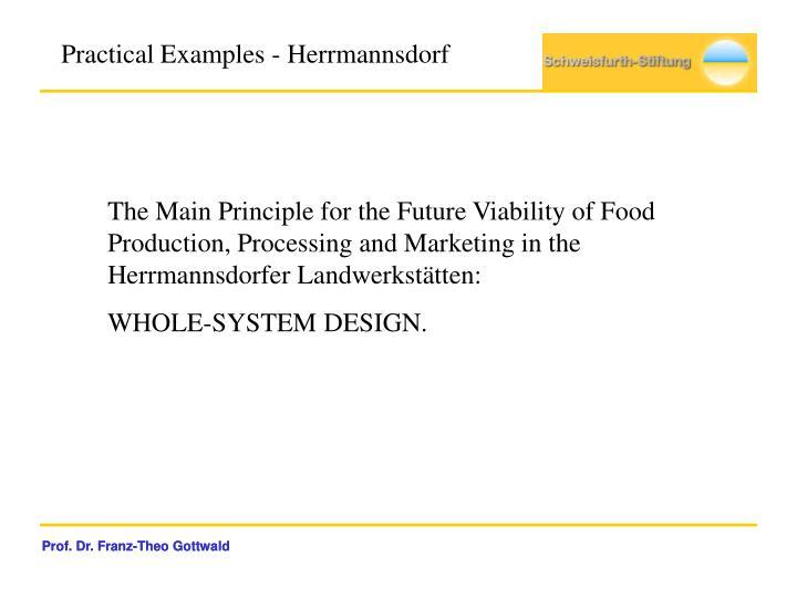 Practical Examples - Herrmannsdorf