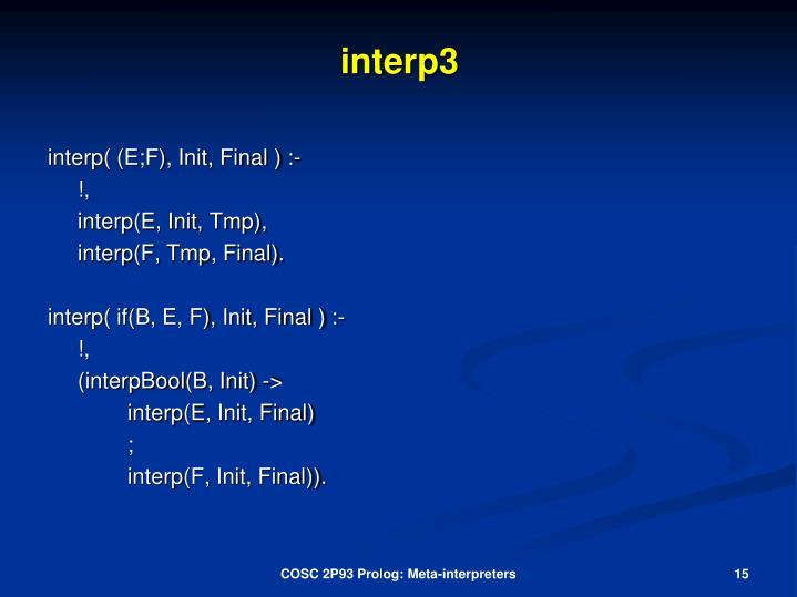 interp3