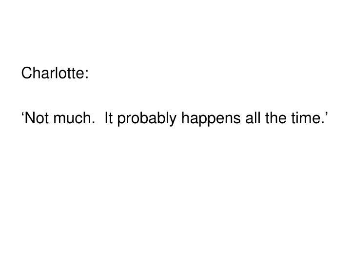 Charlotte: