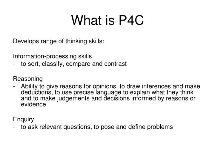 What is P4C
