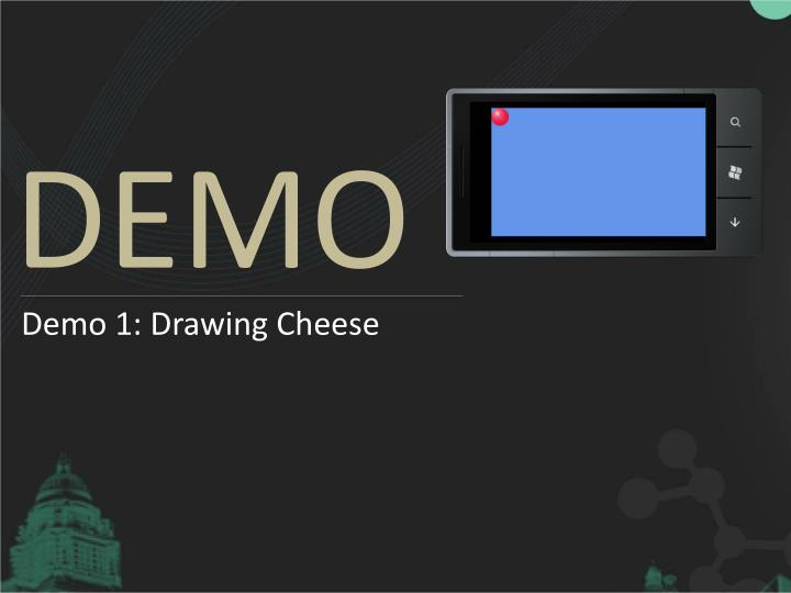 Demo 1: Drawing Cheese