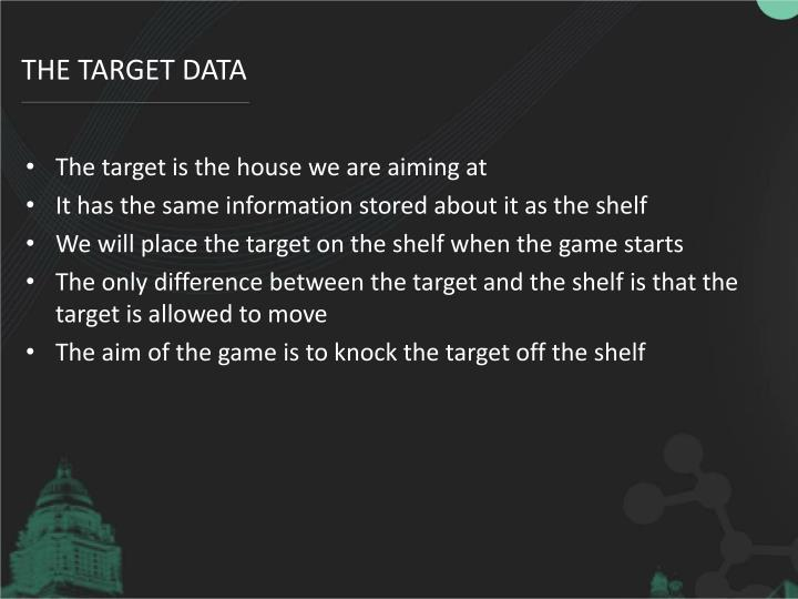 The Target data