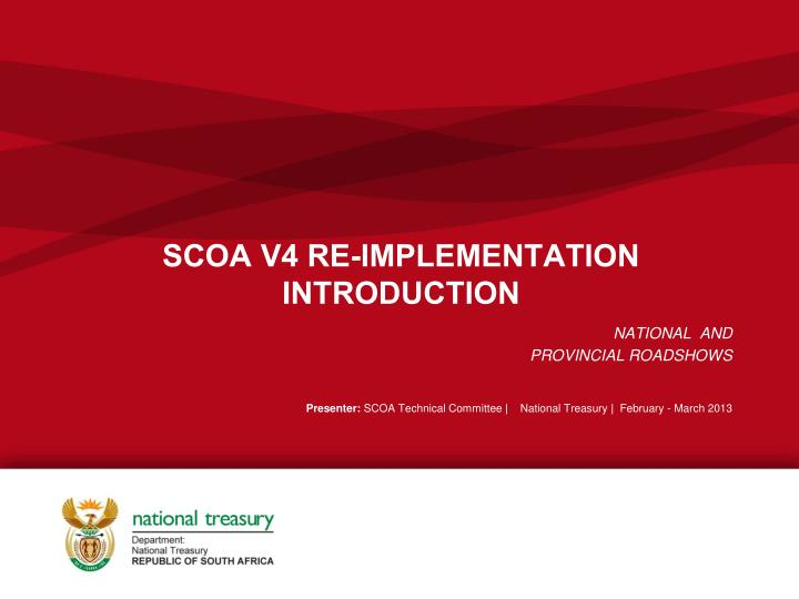 Scoa v4 re implementation introduction
