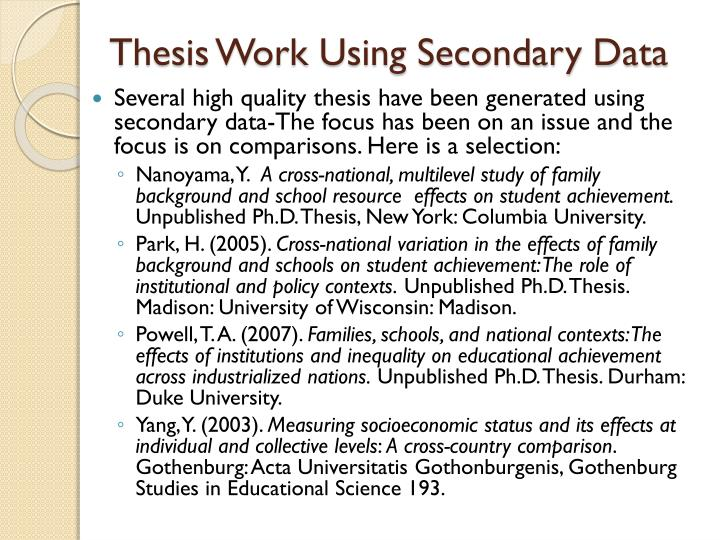 thesis analysis and interpretation of data Disharmony in data of thesis interpretation and analysis training future workforce, in relation to students performance in a civic education and daily local practices.
