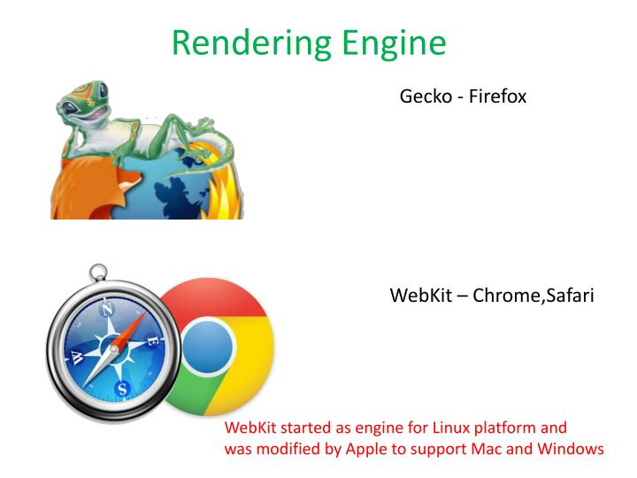 Rendering Engine