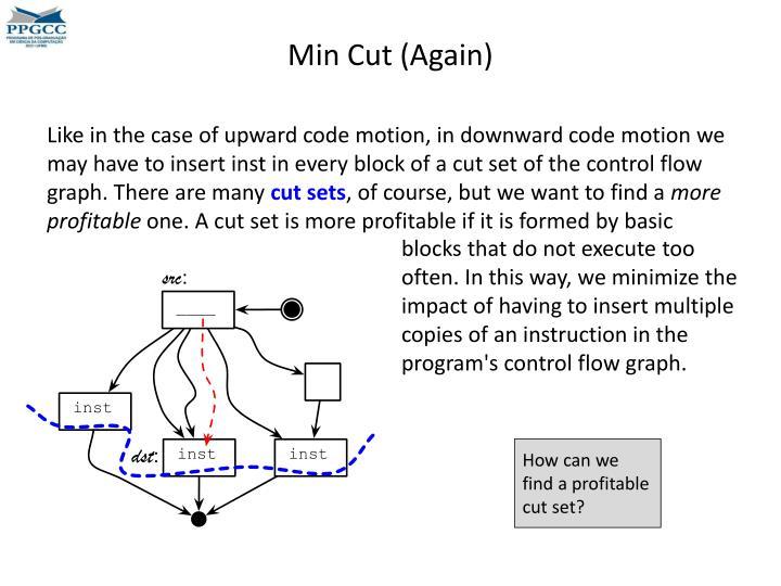 Min Cut (Again)