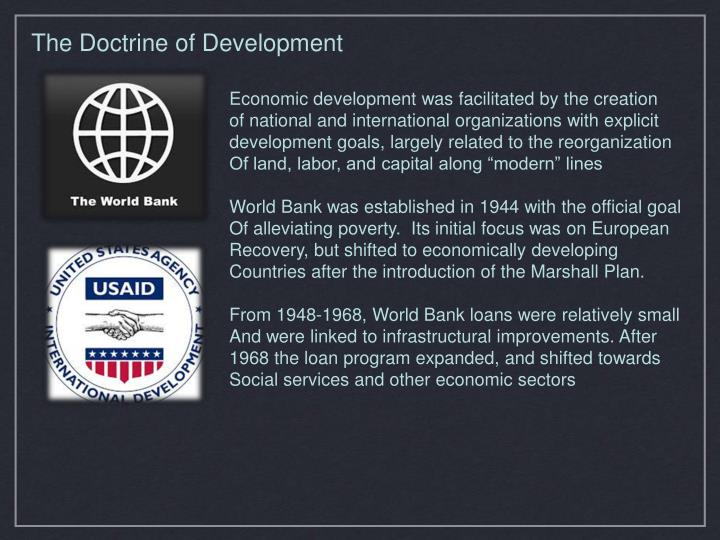 The Doctrine of Development