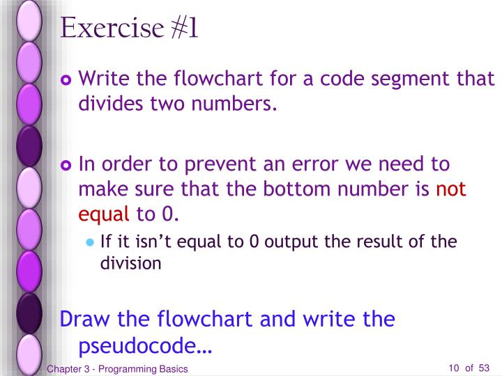 Exercise #1