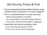 1 2 security privacy trust