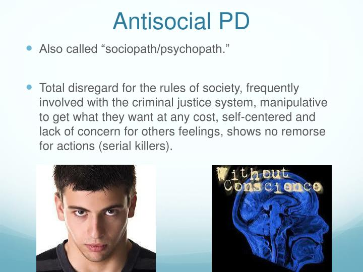 Antisocial PD