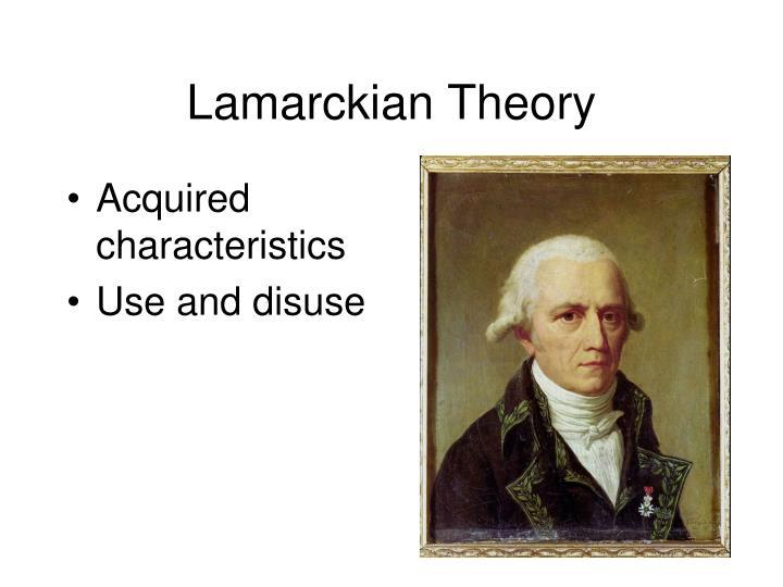 Lamarckian Theory