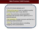 make promises fulfill promises2
