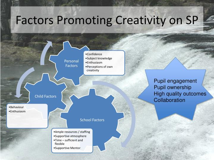 Factors Promoting Creativity on SP