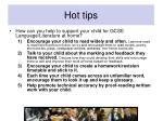 hot tips
