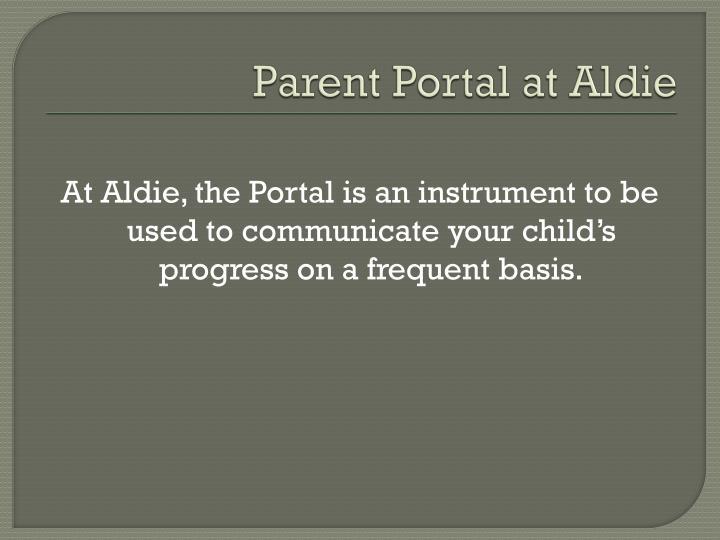 Parent Portal at