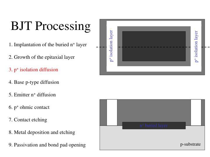 BJT Processing