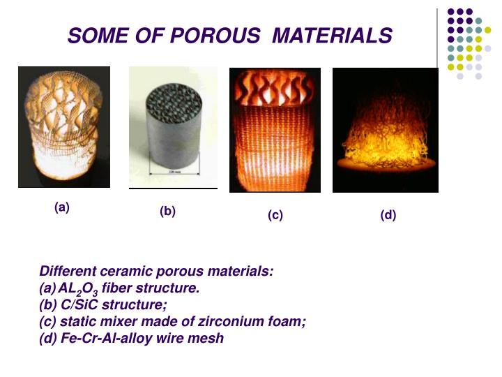 Ppt Combustion In Porous Media☼ Powerpoint Presentation