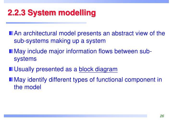 2.2.3 System