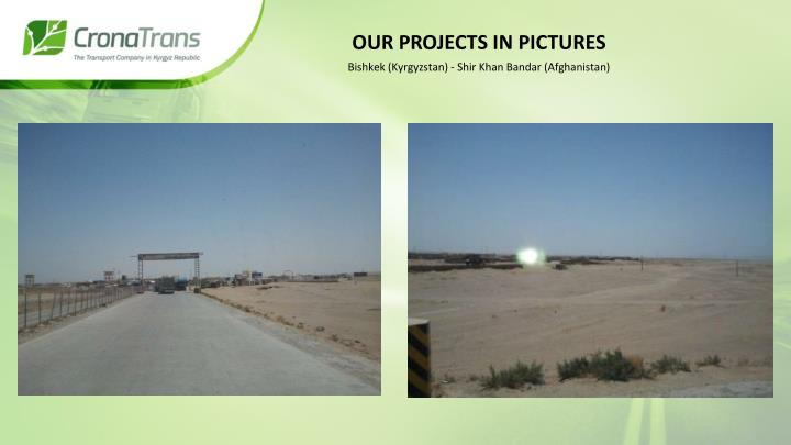 Our projects in pictures